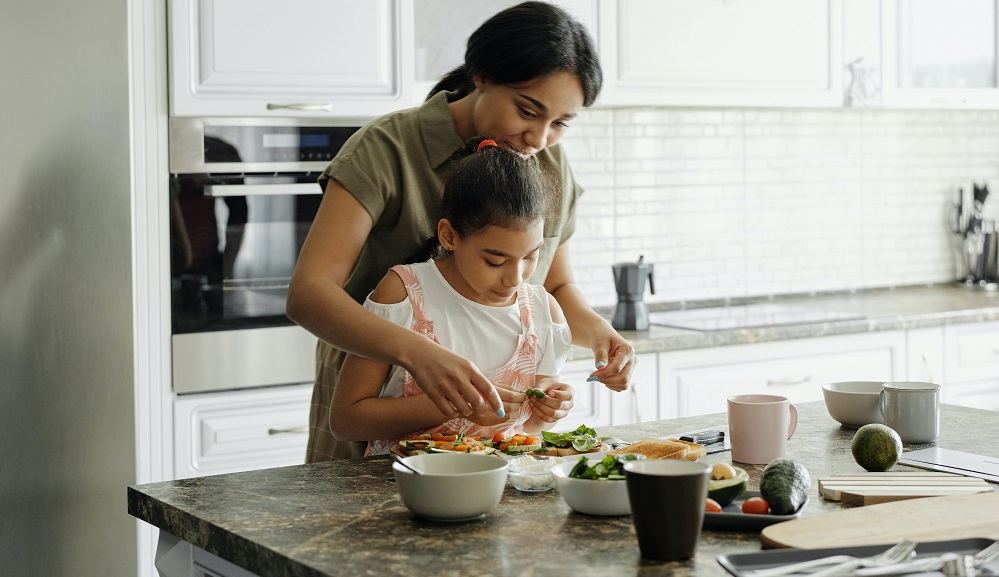 Cooking with children is not only fun, it's also educational!