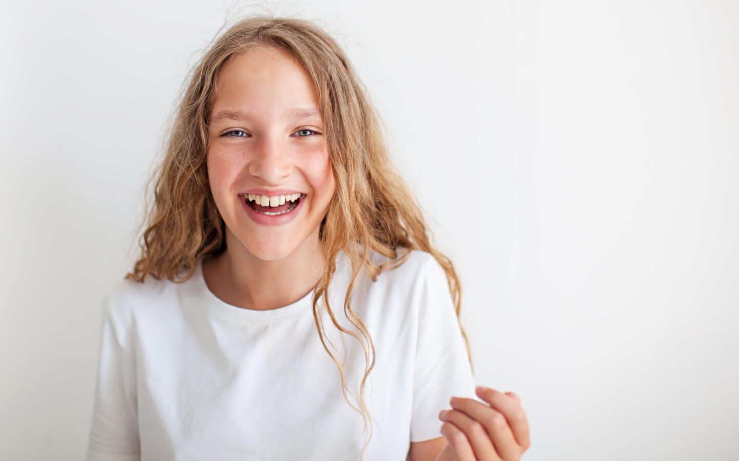 Girl feeling confident about her 11 Plus Interview