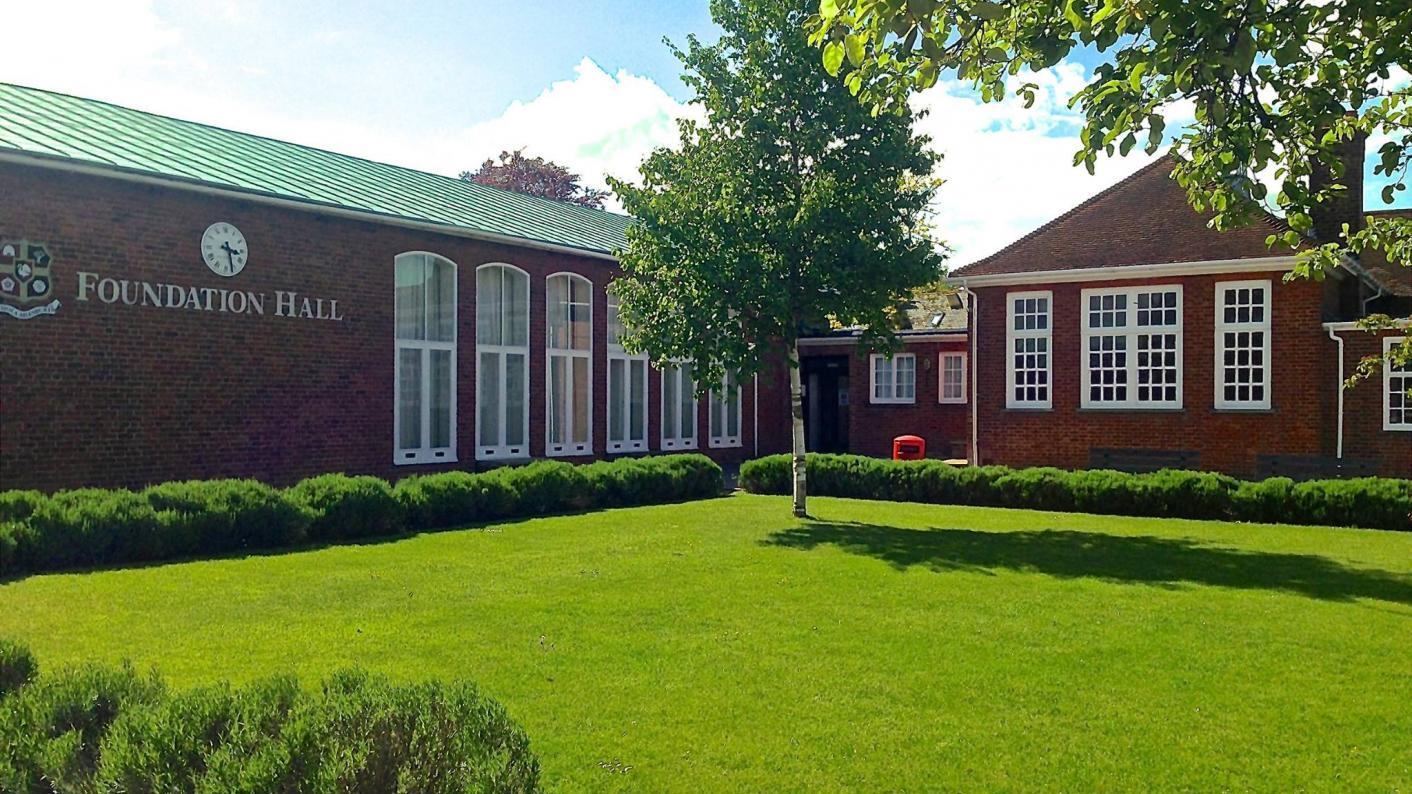 Aylesbury Grammar School grounds