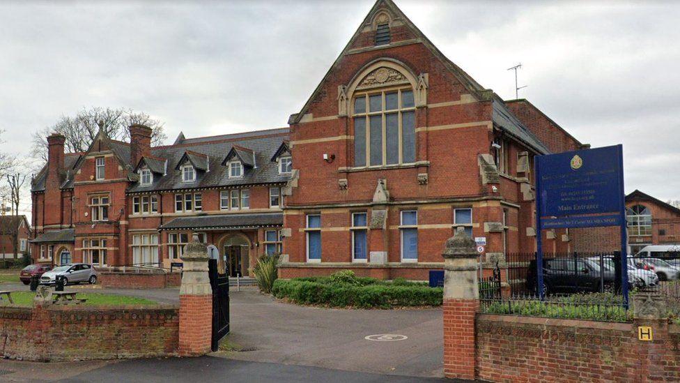 King Edward VI Grammar School entrance