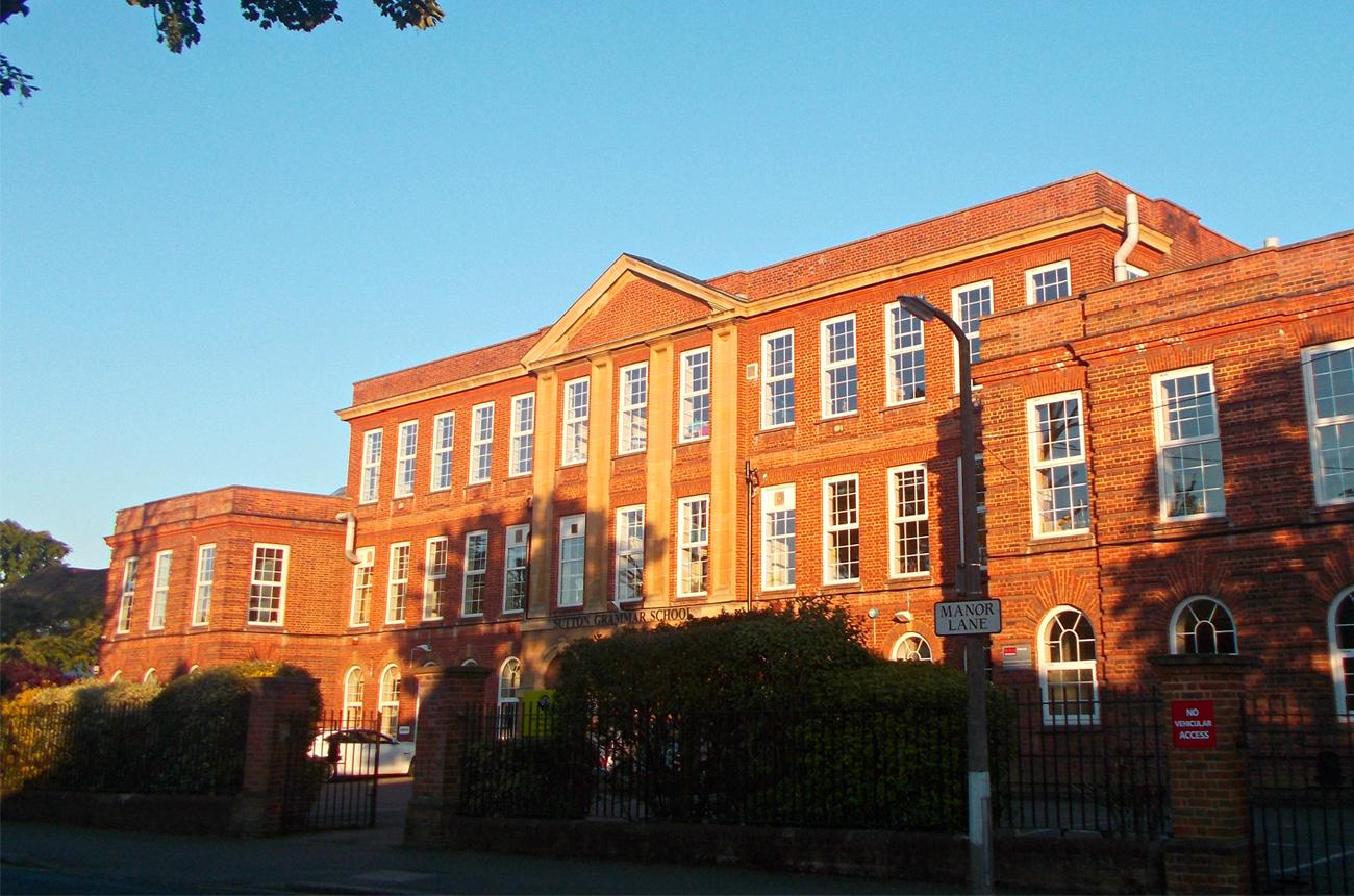 Sutton Grammar School building